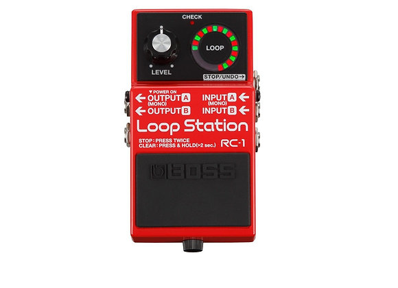 Rc-1 Boss Loopstation Con 12 Minutos Para Grabación