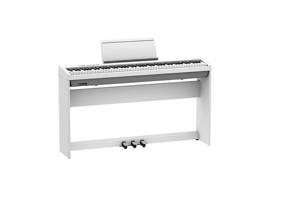 FP-30X-WHC Piano digital blanco Kit con base y unidad de pedales