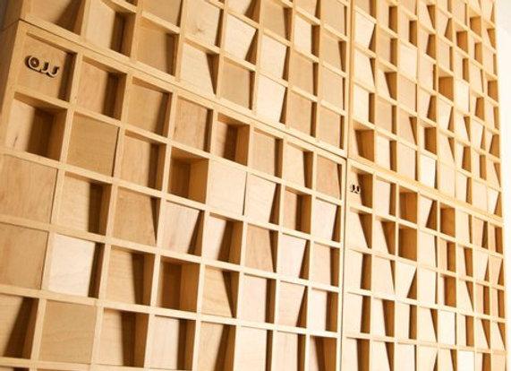 AW Woodland Fusor - Difusor de madera sólida 60cmx60cm