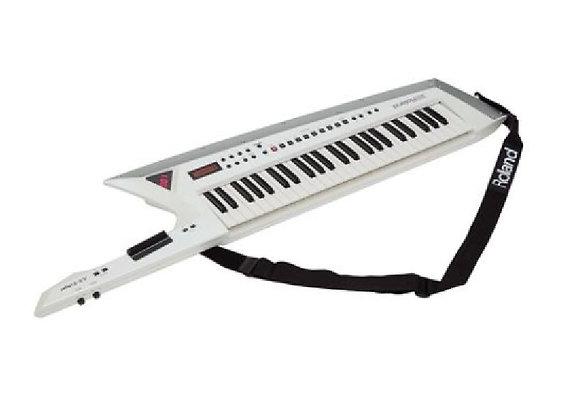 AX-Edge Roland White - Sintetizador keytar 49 teclas