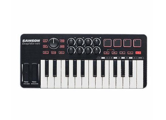Graphite M25 SAMSON - Teclado controlador MIDI 25 teclas