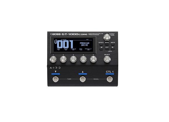 Gt-1000 CORE Boss Procesador de efectos