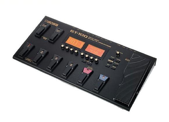 GT-100 BOSS - Procesador efectos para guitarra