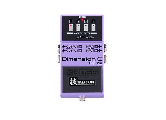 Dc-2w Boss Pedal Compacto Dimension C Waza Craft