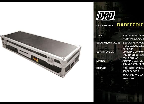 Estuche para Dj, 2 CDJ1000 + DJM600 - DAD