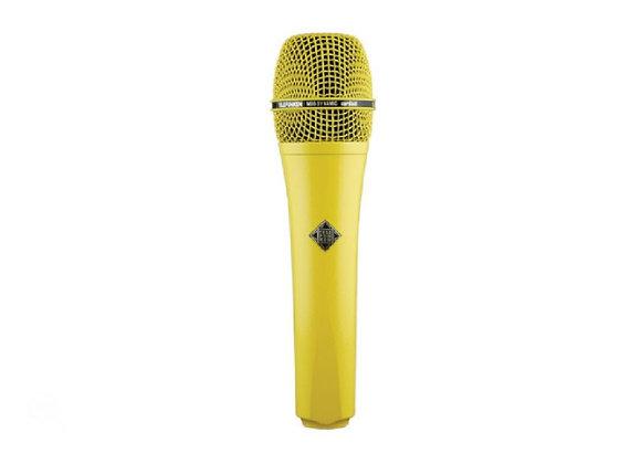 M80 Telefunken Elektroakustik - Micrófono dinámico amarillo
