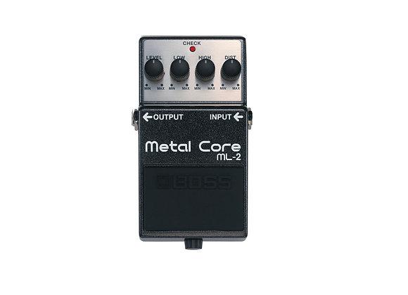 Ml-2 Boss Pedal Compacto Metal Core