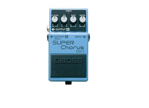 Ch-1 Boss Pedal Super Chorus, Sonido Clásico Y Brillante