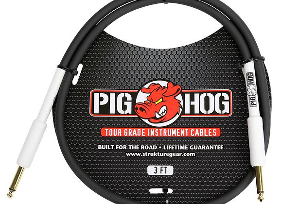 PH3 Pig Hog - Cable instrumento 1/4-1/4 91 cm