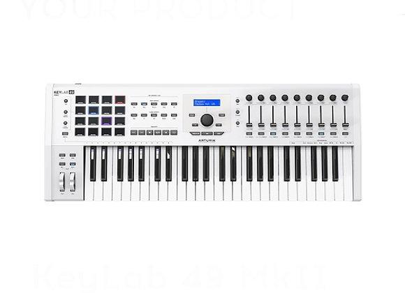 KeyLab 49 MKII ARTURIA - Teclado controlador MIDI avanzado 49 teclas
