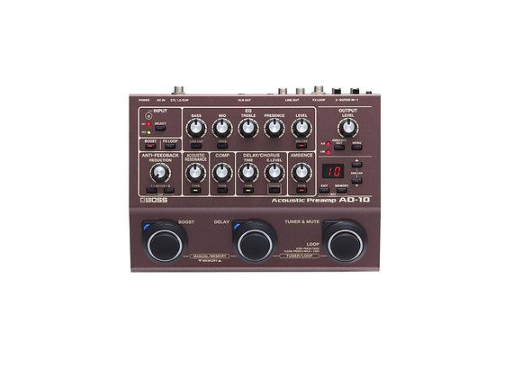 Ad-10 Boss Preamplificador Para Guitarra Electro Acústica