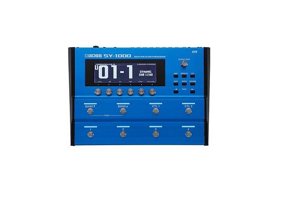 Sy-1000 Boss Sintetizador/procesador De Modelado Gtr Y Bajo