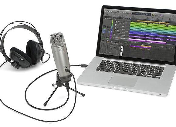 COU1 Pro SAMSON - Micrófono condensador USB