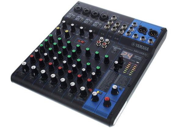 MG10XU YAMAHA - Mezcladora 10 canales, efectos, compresor, USB