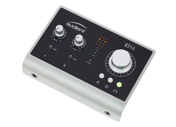 ID14 Audient - Interface 2 entradas/2 salidas