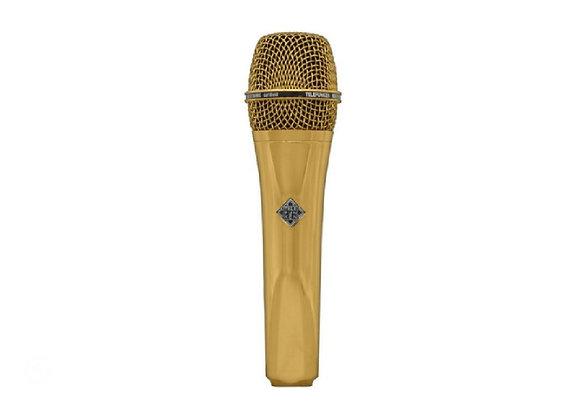 M80 Telefunken Elektroakustik - Micrófono dinámico dorado