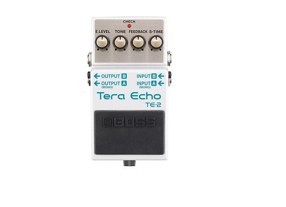 TE-2 Boss Pedal compacto Tera Echo