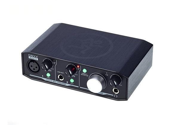 Mackie Onyx 1•2 - Interface 2 entradas/2 salidas