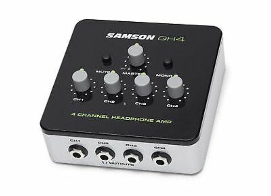 QH4 SAMSON - Amplificador 4 audífonos