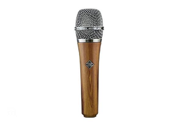 M80 Telefunken Elektroakustik - Micrófono dinámico madera obscura