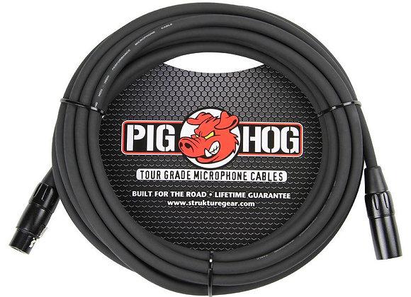 PHM25 Pig Hog - Cable micrófono XLR-XLR 7.62 mts