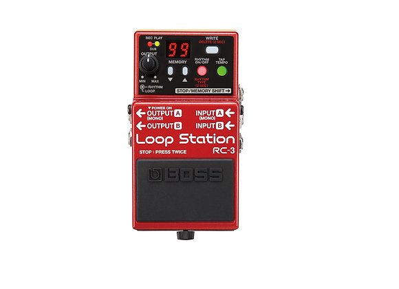 Rc-3 Boss Loopstation Pedal Compacto