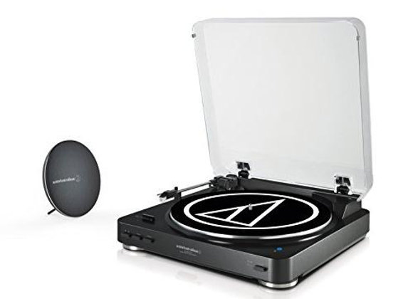 AT-LP60SPBT-BK Audio-Technica - Tornamesa de banda con bocina Bluetooth