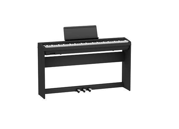 FP-30X-BKC Piano digital negro Kit con base y unidad de pedales
