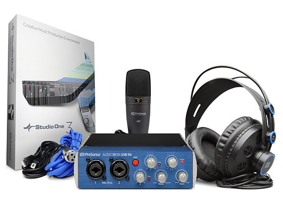 AudioBox 96 Studio Presonus - Kit de grabación
