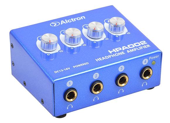 HPA002 Alctron - Amplificador 4 audífonos