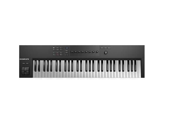 Komplete Kontrol A61 Native Instruments - Teclado controlador MIDI 61 teclas