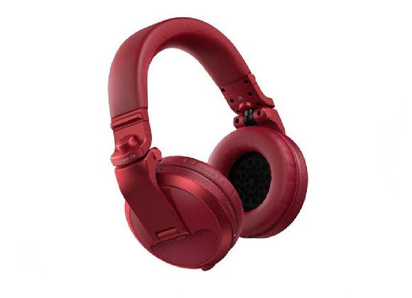HDJ-X5 BT W Pioneer - Audífonos DJ Bluetooth circumaurales rojo