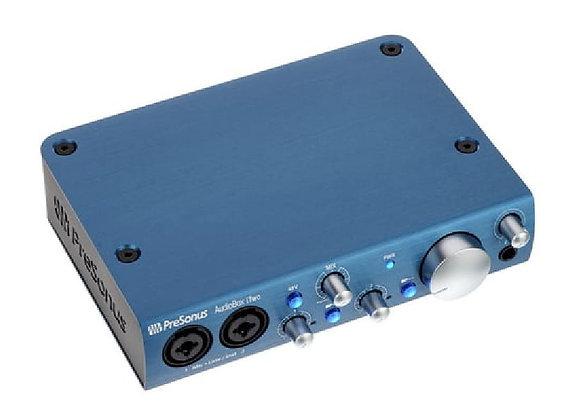 AudioBox iTwo Presonus - Interface audio/MIDI 2x2