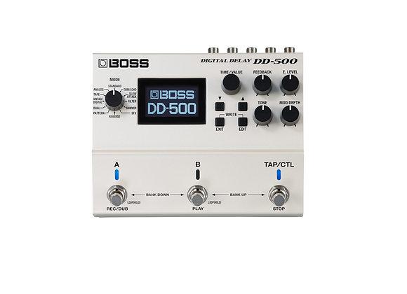 Dd-500 Digital Delay Boss 12 Modos Con Patrones De Memoria