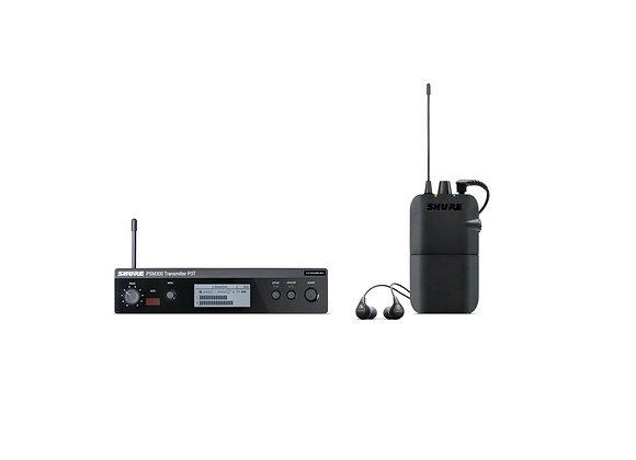 P3TR112GR - Shure set con auriculares SE112