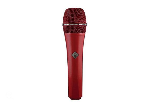 M80 Telefunken Elektroakustik - Micrófono dinámico rojo