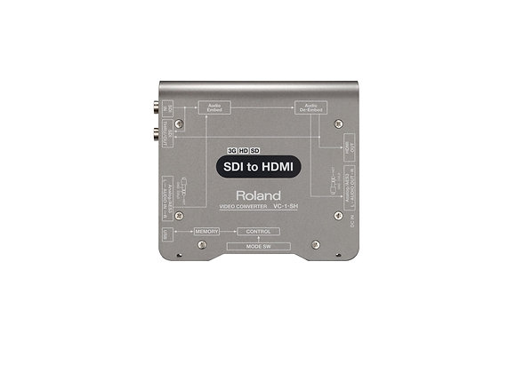 VC-1-SH Roland - Convertidor de video SDI a HDMI
