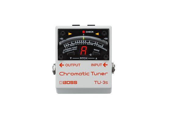 TU-3S Boss Afinador cromatico de pedal para guitarra o bajo