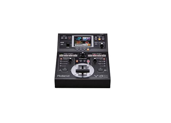 V-4EX Roland - Video switcher 4 canales, efectos, salidas USB, HMDI/RGB/SD