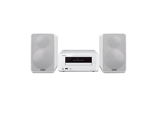 CS-265 Blanco - Onkyo Mini Sistema Colibrí Hi-Fi con CD y Bluetooth