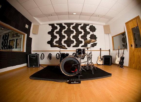 StageFoam Plataforma acústica para batería 2.10 mt