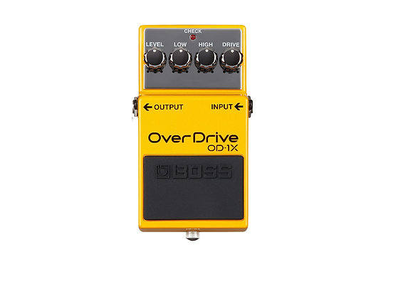 OD-1X Boss Pedal compacto Overdrive