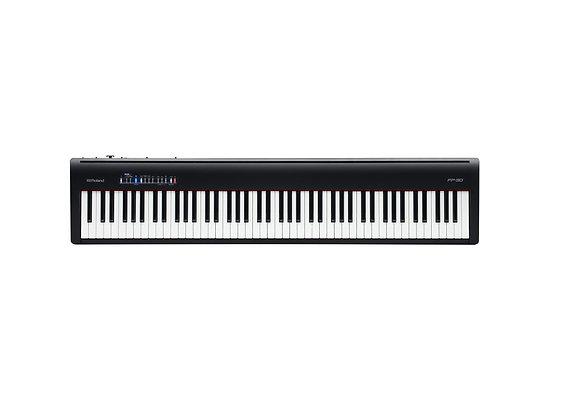 FP-30BK Roland Piano Digital 88 teclas color negro