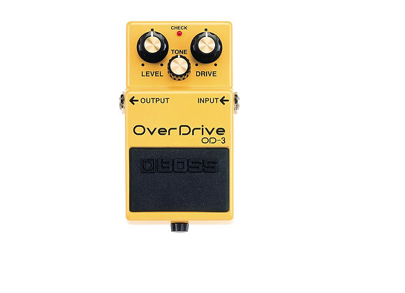 Od-3 Boss Pedal Compacto Overdrive