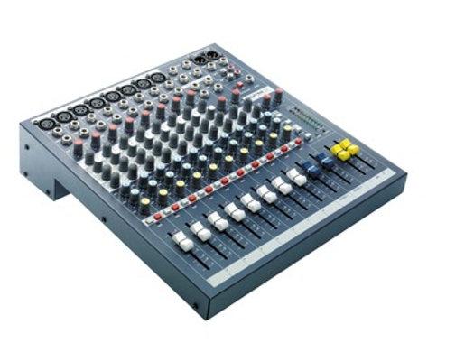 EPM8 Soundcraft - Mezcladora 8 canales