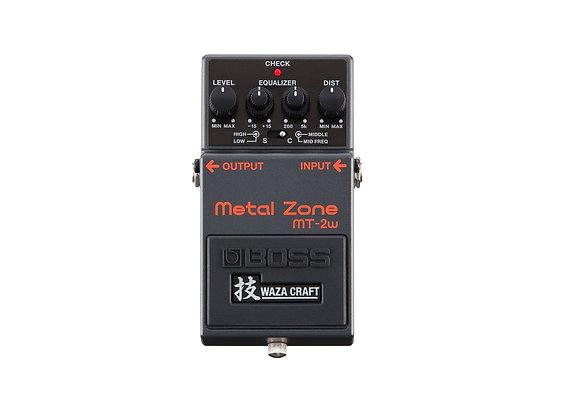 Mt-2w  Pedal Metal Zone Waza Craft Distorsión Boss
