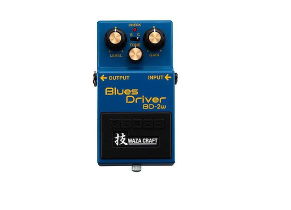 Bd-2w Boss Blues Driver Pedal De Efecto Analógico Waza Craft