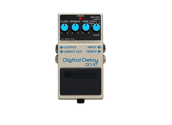 Boss Dd-3t Pedal Compacto De Delay Digital