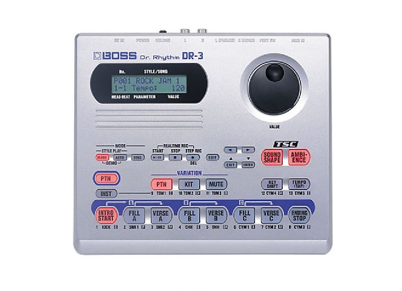 "DR-3 BOSS - Caja de ritmos ""Dr Rhythm"""