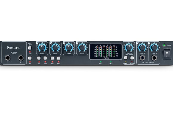 Saffire Pro 26 Focusrite - Interface Firewire